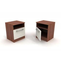Malý jednoduchý nočný stolík