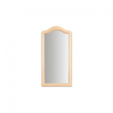 Malé zrkadlo so zaobleným vrchným rámom LA103