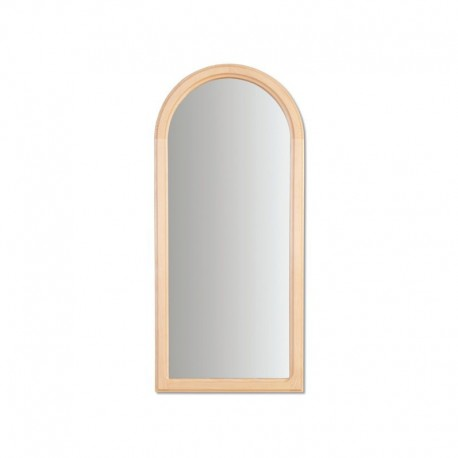 Vysoké zrkadlo s dreveným rámom LA105