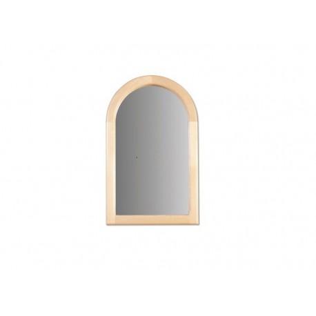 Malé zrkadlo s masívnym rámom LA107