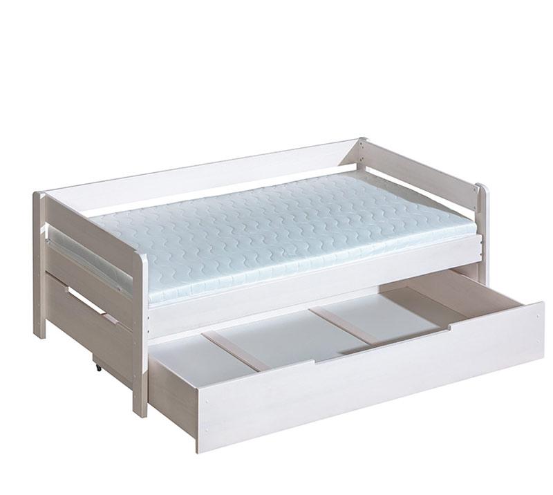 jednolôžková posteľ so zásuvkou