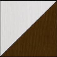 biela/hnedá