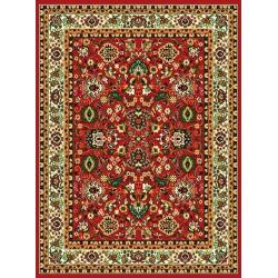 Červený klasický koberec