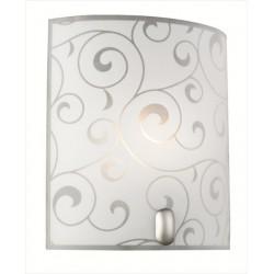 Jednoduchá lacná nástenná lampa