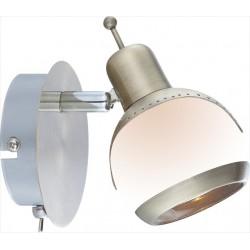 Jednoduchá mosadzná nástenná lampa