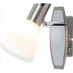 Nástenná lampa s kužeľovým tienidlom