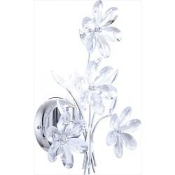 Kvetinová nástenná lampa
