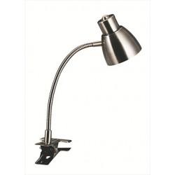 Štipcová lampa z mosadze