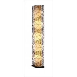 Bambusová stojaca lampa