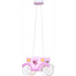 Detské svietidlo v tvare koča