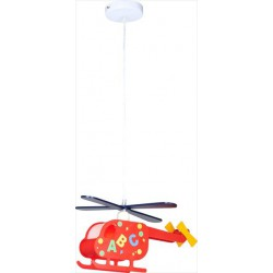 Detské svietidlo v tvare helikoptéry