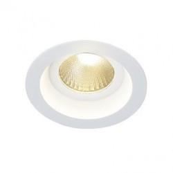 Biele LED vstavané bodové svetlo IP44