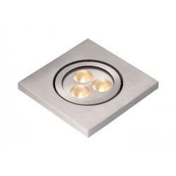 Štvorcové zápustné LED svetlo do exteriéru