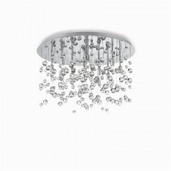 Okrúhle svetlo so sklenými guľkami