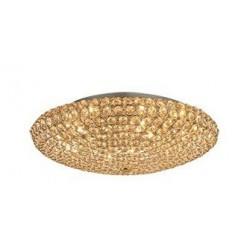 Zlaté stropné svietidlo