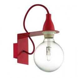 Červené nástenné svietidlo MINIMAL