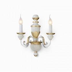 Nástenná rustikálna lampa Firenze