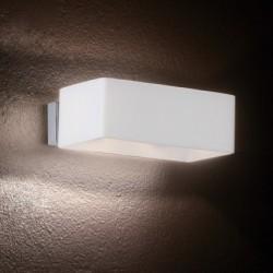 Biele nástenné svetlo BOX