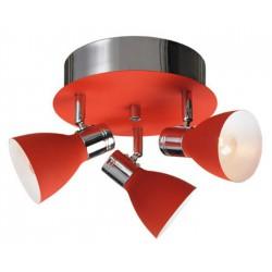 Červené svietidlo - skladom 2 ks
